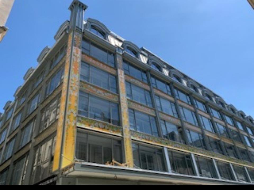 LA SAMARITAINE (Paris 1er) - façades logements et crèche